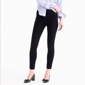 J. Crew Pull-on toothpick jean in black size 26